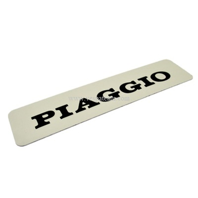 """scritta targhetta adesiva """"PIAGGIO"""""""