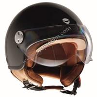 casco pelle dura beige-brown misura XXL