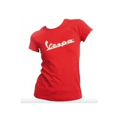 T-shirt donna vespa rossa M