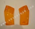vetro freccia arancio posteriore (coppia)