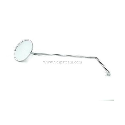 specchio cromato tondo DX ( staffa incorporata nel gambo)