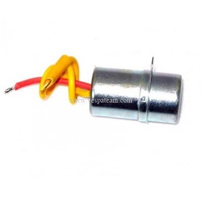 condensatore modificato con cavo corto per statore 4 poli